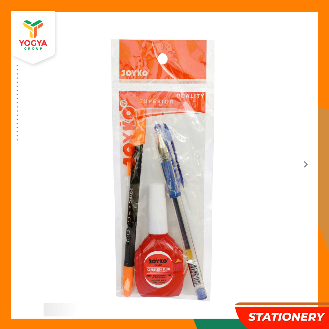 JOYKO BALLPOINT GEL 2PC MIX+CORRECTION JK101
