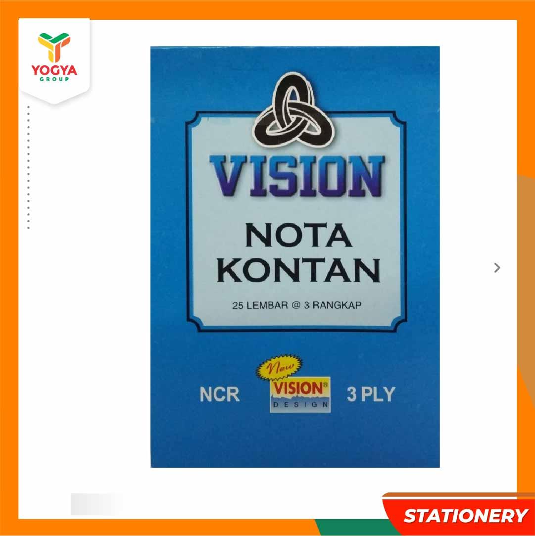 VISION NCR 1/4 3X 1P=10PC