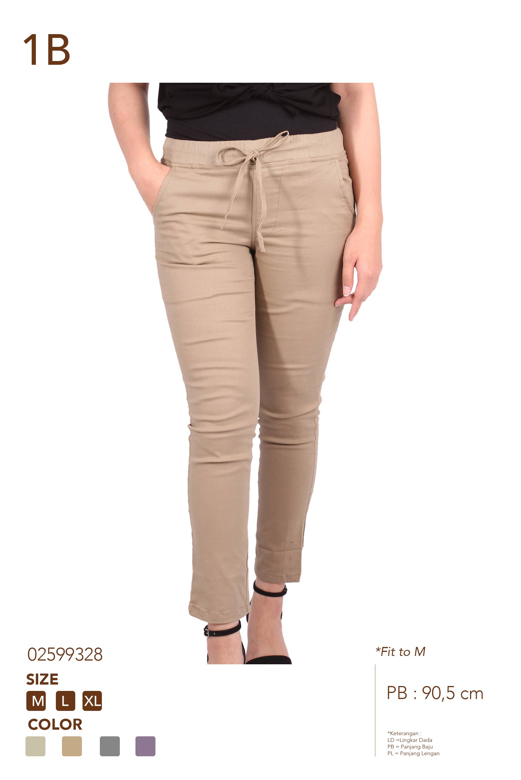 1B RM2003 CHINOS REPEAT FORMAL LONG PANTS RM2