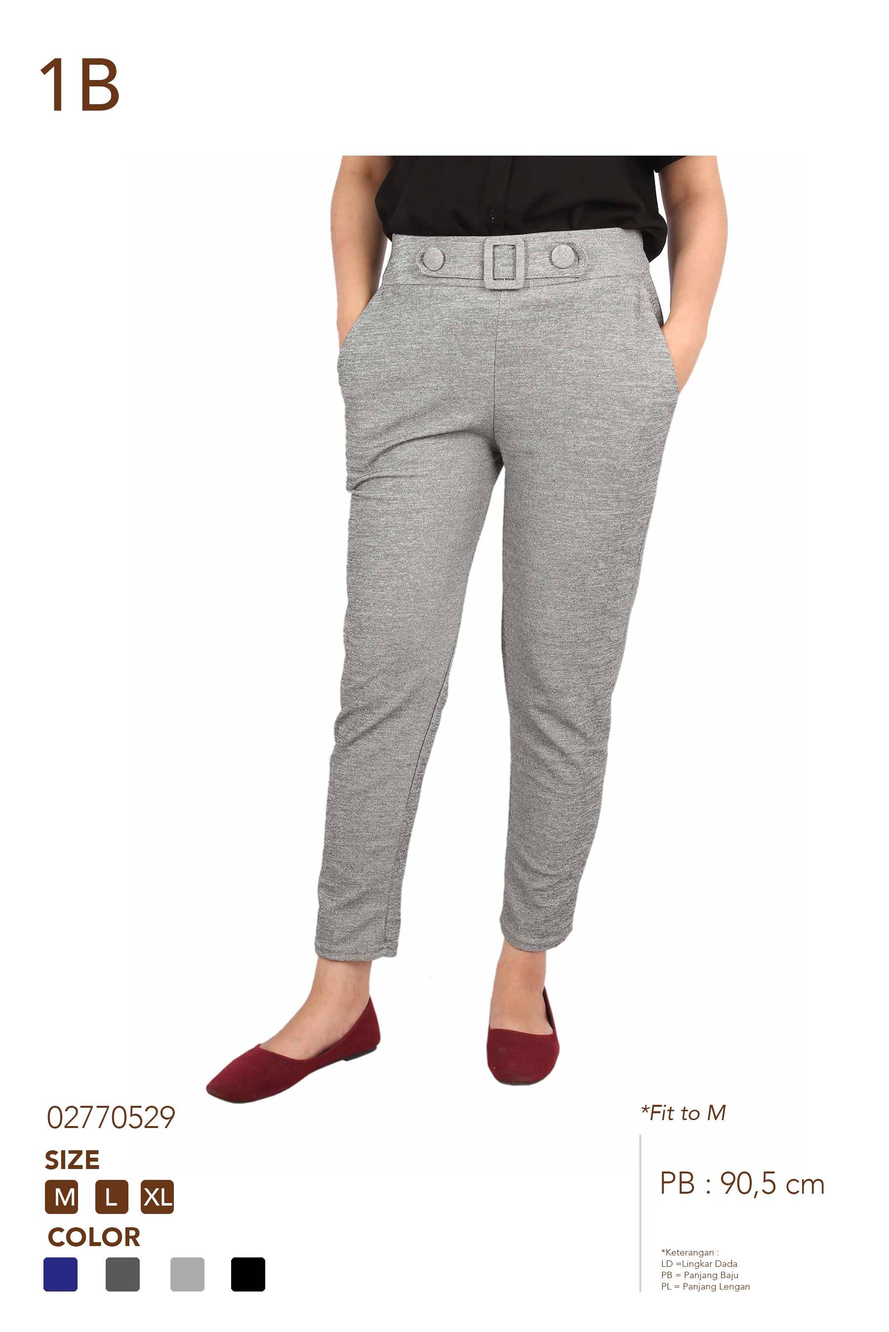 1B RM2004 CLN HW STRECTH FORMAL LONG PANTS RM2