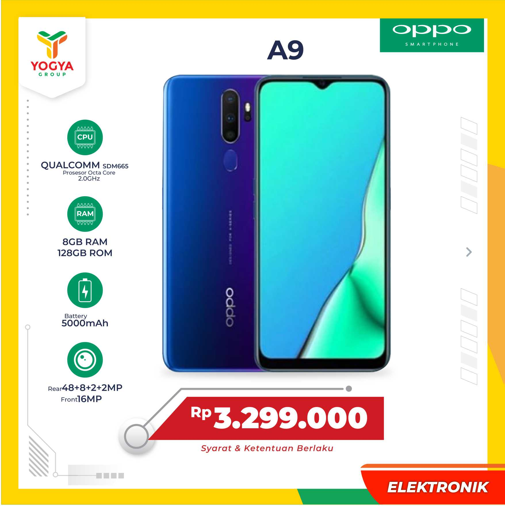 OPPO A9 2020 8GB
