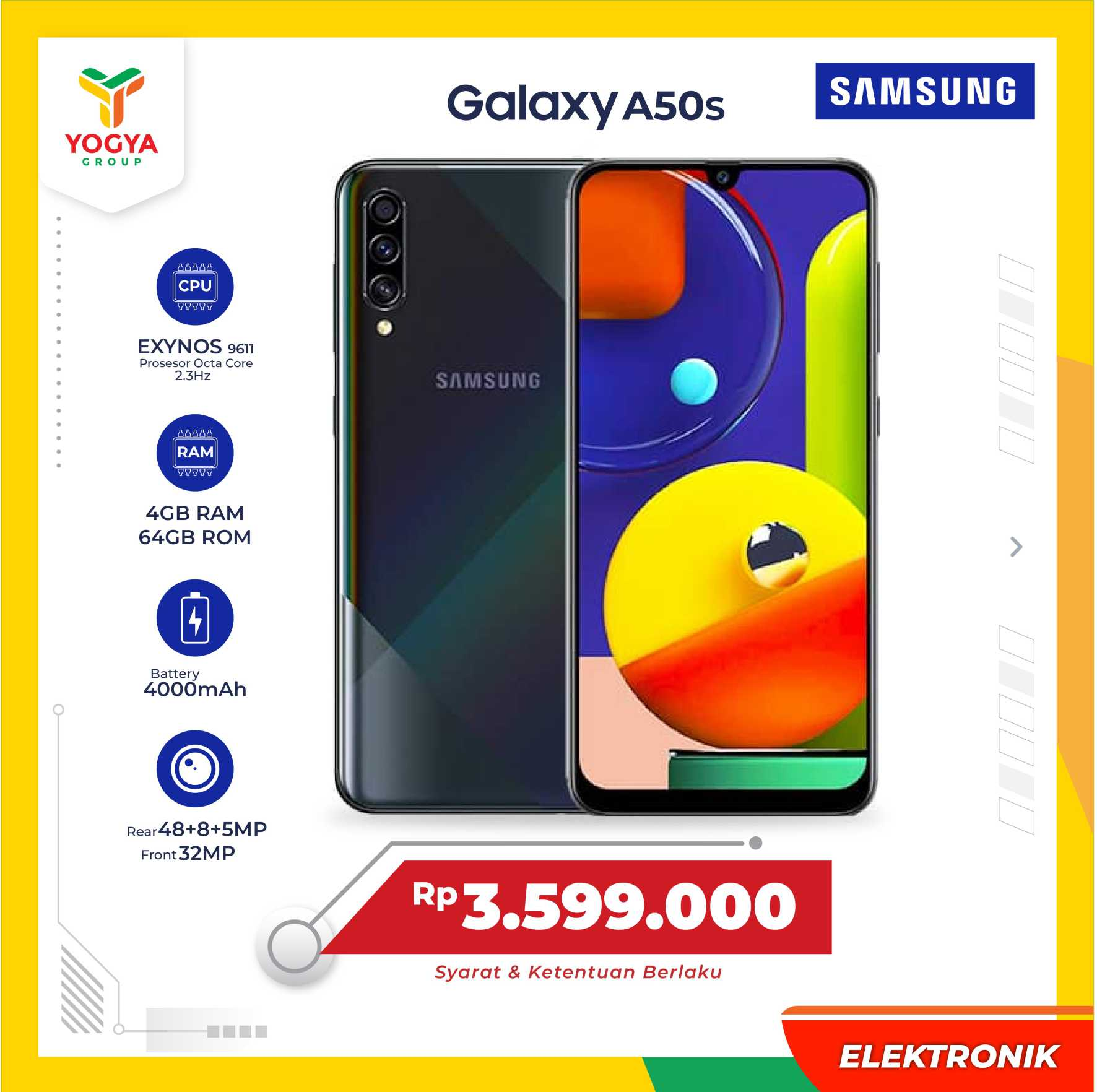 SAMSUNG GALAXY A50 S 4/64 GB